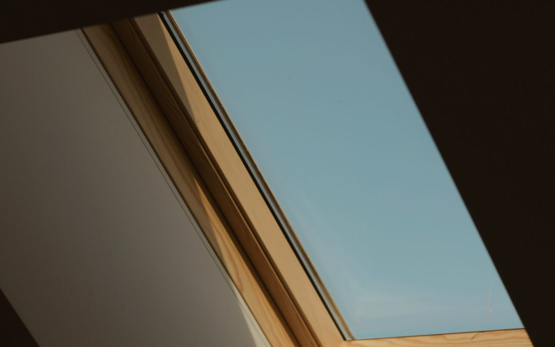 Celling Window with Sunlight Passing Through